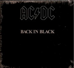 CD – AC DC – BACK IN BLACK
