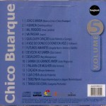 CD – CHICO BUARQUE – SONGBOOK VOL 5