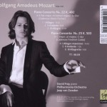 CD – MOZART PIANO C 22 & 25 – DAVID FRAY