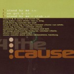 CD – 4 THE CAUSE – STAND BY ME