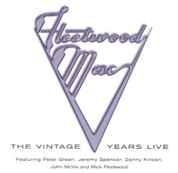 CD – FLEETWOOD MAC – THE VINTAGE YEARS LIVE
